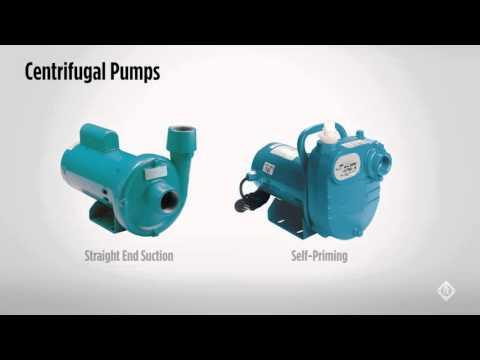 Centrifugal Pumps - The Basics