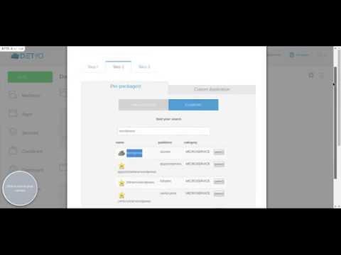 beta7: Paas/SaaS for the hosting industry via DET.io