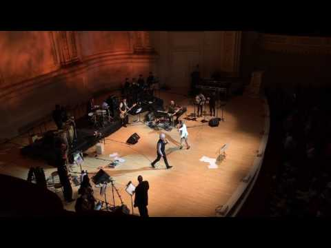 Once in a Lifetime - Angélique Kidjo with David Byrne at Carnegie Hall 2017