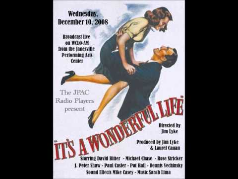 """""""It's A Wonderful Life"""" Presented by the JPAC Radio Players"""