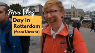 MICRO VLOG: Day trip to Rotterdam (my favourite city!)
