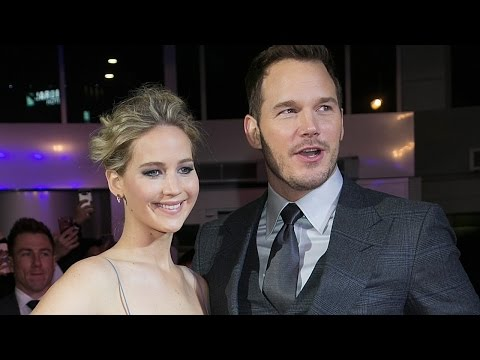 Jennifer Lawrence & Chris Pratt LEAVE Interview After Awkward Sex Question