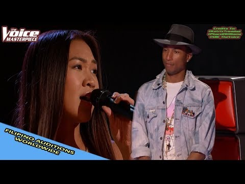 'FILIPINO' SINGER AUDITIONS IN THE VOICE WORLDWIDE