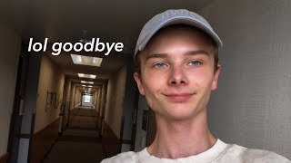 MOVING OUT (of college)