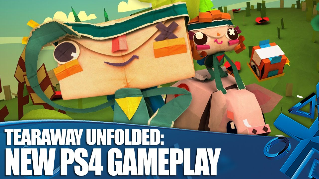Tearaway Unfolded: PS4 Gameplay