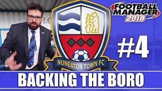Backing the Boro FM18 | NUNEATON | Part 4 | NORTH FERRIBY & HARROGATE | Football Manager 2018
