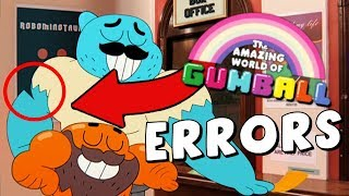 Animation Errors in The Amazing World of Gumball