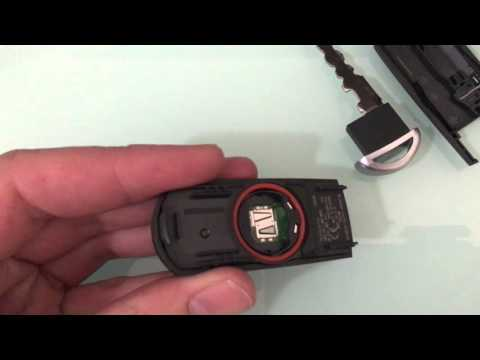 how to change your mazda key battery