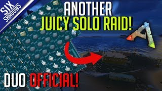 ANOTHER JUICY SOLO RAID! | Duo Official PvP - Ep. 13 - Ark: Survival Evolved