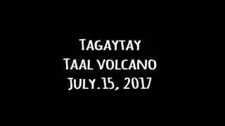 フィリピン空撮紀行 ドローン空撮 タガイタイ タール湖 タール火山編 Philippines aerial shoot by drone.