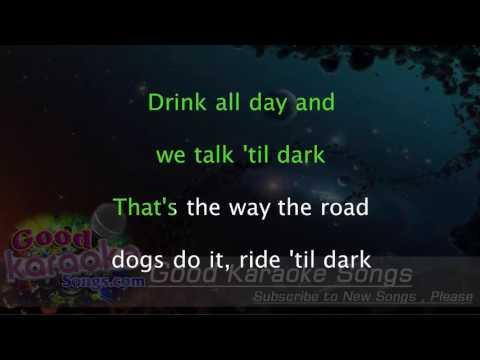 Ride - Trace Adkins ( Karaoke Lyrics )