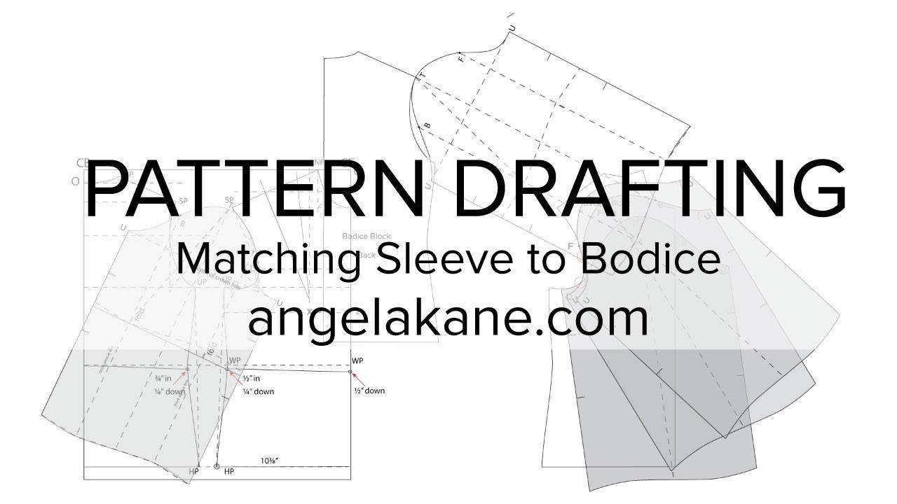 Mens jacket pattern making - Sewing Patterns Flat Pattern Drafting Matching The Sleeve To Bodice