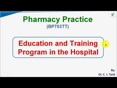 3.d.1 Education and Training Program in the Hospital