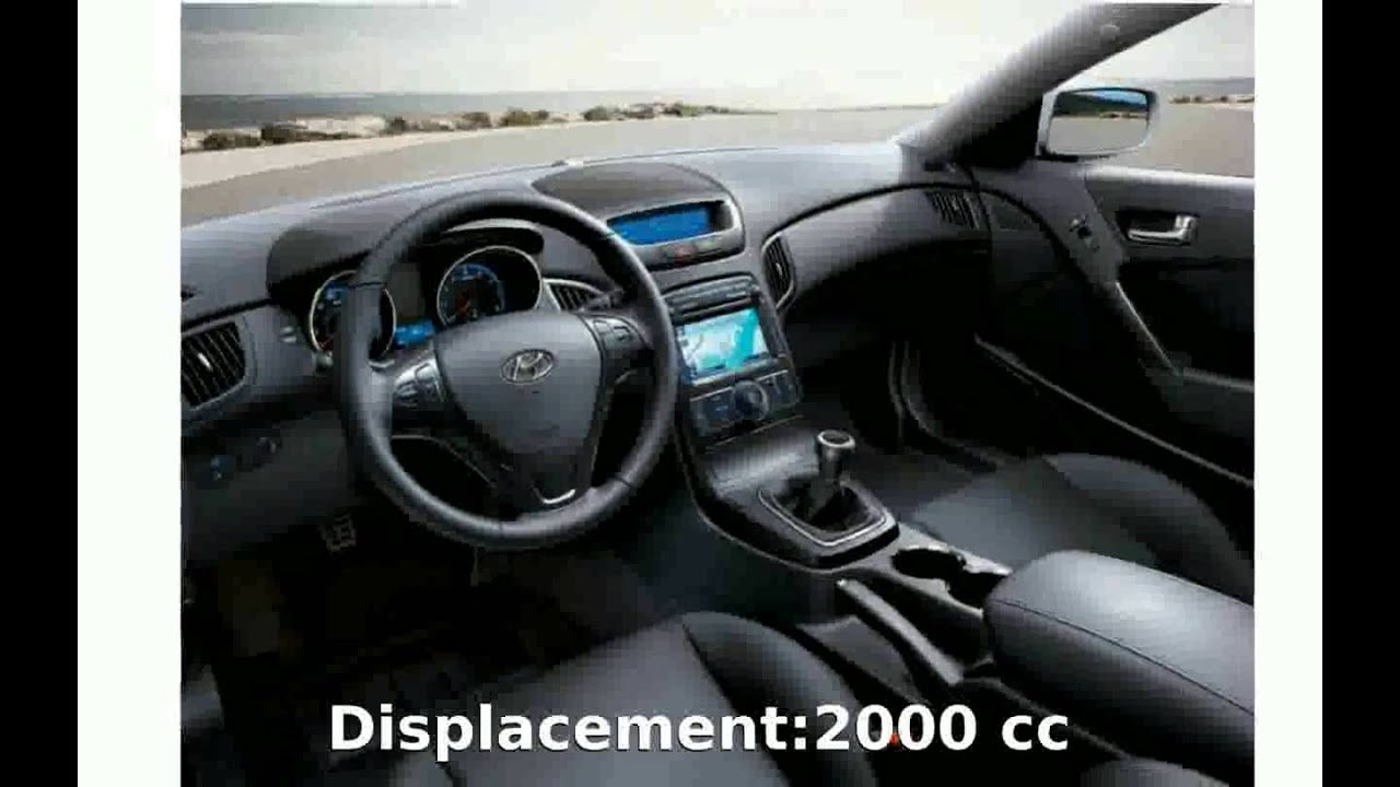 medium resolution of 2010 hyundai genesis coupe 2 0t premium features and specification