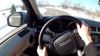 2014 Range Rover Sport V8 Supercharged - WR TV POV Test Drive