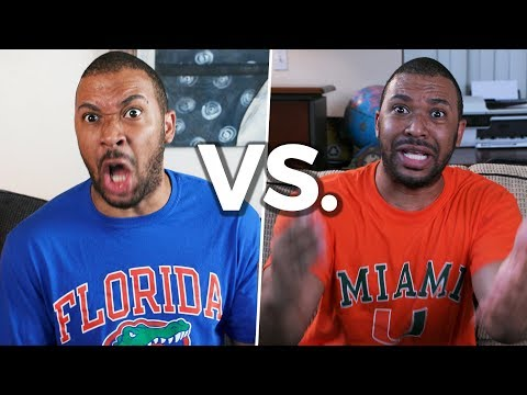 How Fans Reacted to the Florida/Miami Game