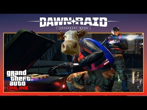 GTA 5 NEW ADVERSARY MODE DAWN RAID GTA V Online DLC Xbox One Gameplay NEW $2,000,000 VAGNER SUPERCAR