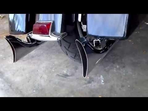 H-D ElectraGlide Fishtail Exhaust