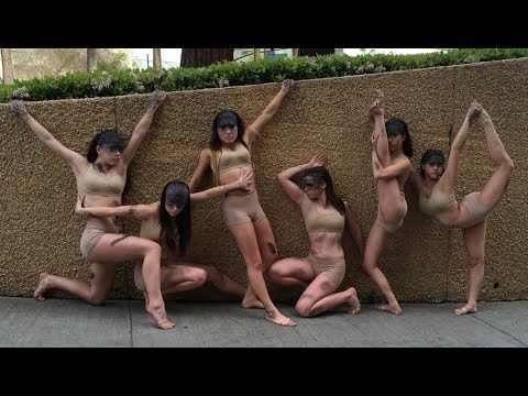 """Stage One Dance Center, Benicia, """"The Inbetween"""" small group senior contemporary dance"""