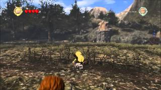 Lego Lord Of The Rings -  Easter Egg -  Assassins Creed Leap Of Faith