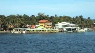 Balcon Bocas Town, Bocas del Toro, Panama.