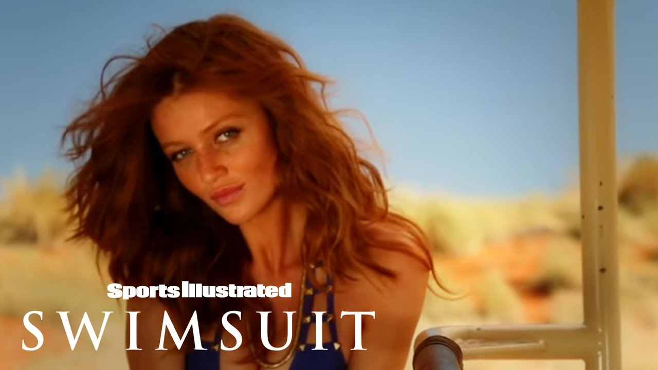 Cintia Dicker In The Red Hot Sand | Intimates | Sports Illustrated ...