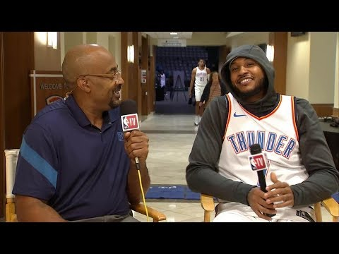 Carmelo Anthony Interview with Dennis Scott || NBA || Sep, 25th 2017
