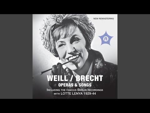 Die Dreigroschenoper The Threepenny Opera : Act I: Kanonen Macheath, Brown