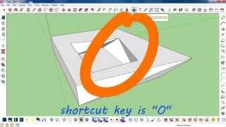 10 Basic Sketchup shortcuts