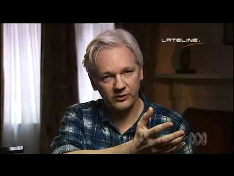 Julian Assange Lateline Interview 06/10/2013