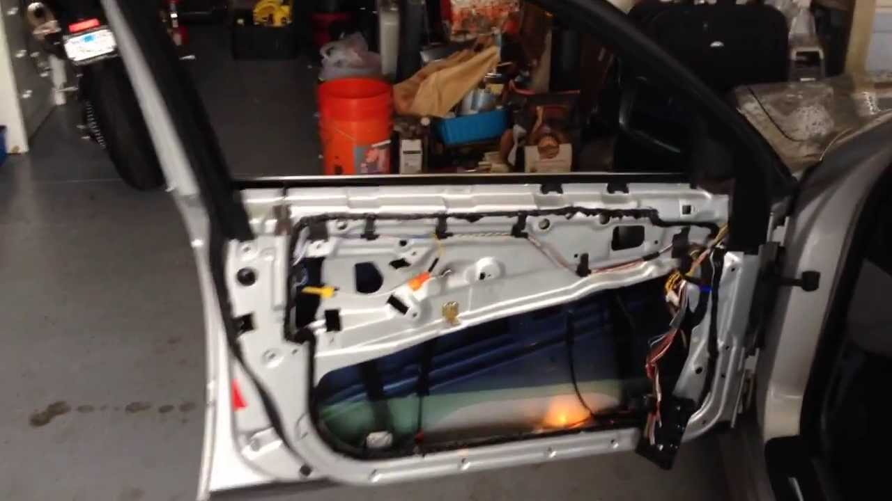 BMW 528i E39 Chasis Driver's Electric Window Repair - YouTube