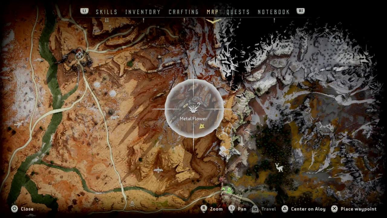 Horizon Zero Dawn Metal Flower Mark Ii A Collectible Location Set 2 1 Youtube