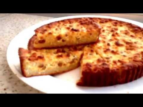Творожная запеканка с соусом Воскресная - кулинарный рецепт