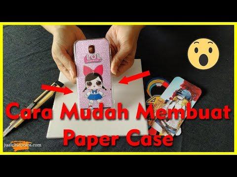 Cara Membuat Paper Case HP  | Murah