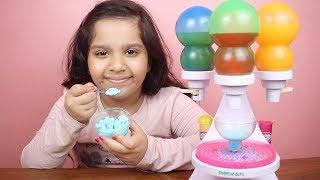 لعبة صنع آيسكريم النقاط المثلج الحقيقي frozen dot maker  العاب طبخ بنات و للأطفال