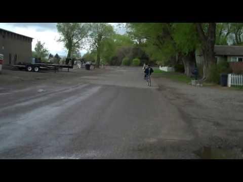Homebuilt Full Suspension Front Wheel Drive Recumbent Bicycle