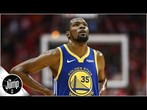 kevin-durant-'unlikely'-to-play-at-the-beginning-of-the-2019-nba-finals-|-the-jump