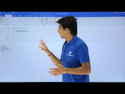 How to create email group in outlook 2020