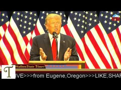 Donald Trump Rally from Eugene, Oregon (Lane Events Fair) {5-6-16}