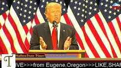 Donald Trump Rally from Eugene, Oregon (​Lane Events Fair) {5-6-16}