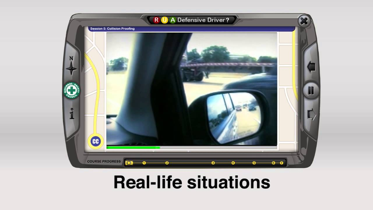 New Jersey Approved Nsc Defensive Driving Course Online Youtube