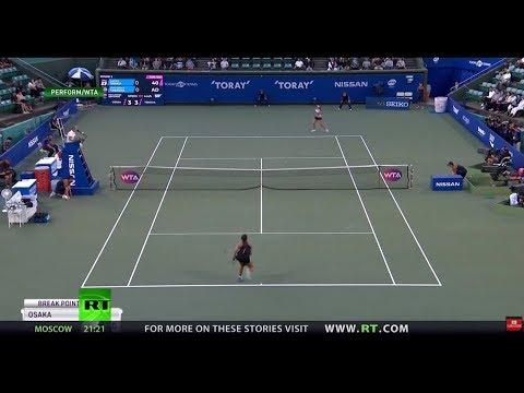 Naomi Osaka cruises to quarterfinals at Pan Pacific Open