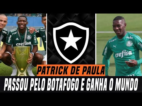 Patrick De Paula Passou Pelo Botafogo E Ganha O Mundo Youtube