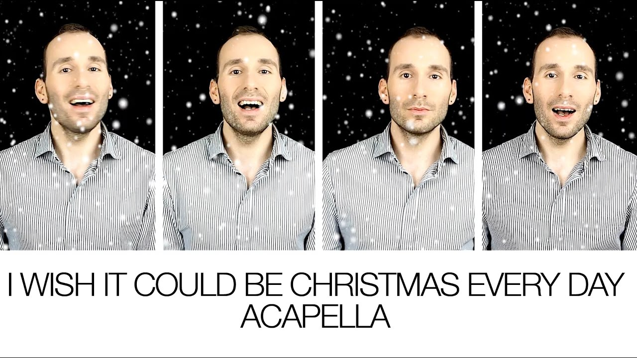 I Wish It Could Be Christmas Every Day - Wizzard [TTBB Acapella ...
