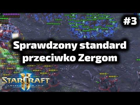 Sprawdzona standardowa gra przeciwko Zergom - Terran poradnik - 16 marine stimpack TvZ #3