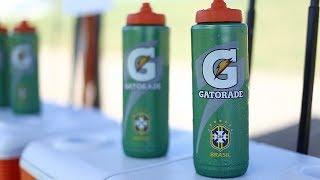 Seleção Brasileira Feminina faz teste do suor da Gatorade em preparação para a Copa América