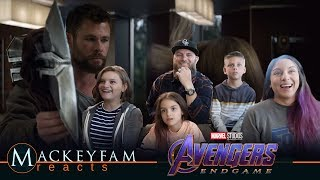 "Marvel Studios' Avengers: Endgame | Film Clip & ""Mission"" Spot- REACTION and REVIEW!!!"