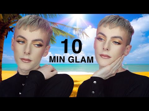 10 MINUTE SUPER EASY - BRONZY SUMMER GLAM thumbnail