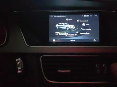 AUDI A4 A5 Q5 MMI 2G HIGH ANDROID TOUCH-SCREEN UPGRADE
