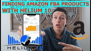 EASIEST Way to Find Amazon FBA Products With Helium 10 | How to Use Helium 10